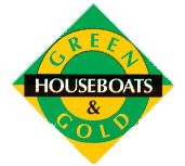 Green and Gold House Boats